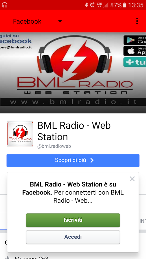 BML Radio- screenshot
