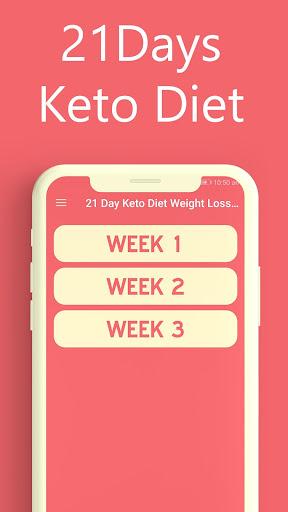21 Days Keto Diet Weight Loss Meal Plan 1.0 screenshots 1
