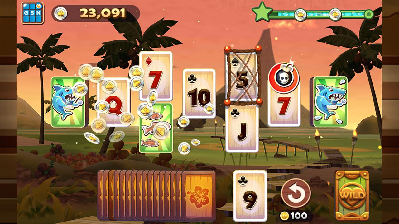 Solitaire TriPeaks - screenshot