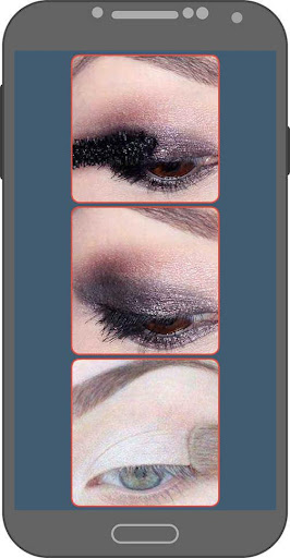 Eye Makeup in Steps