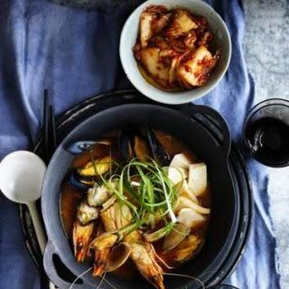 Korean-style Seafood Stew