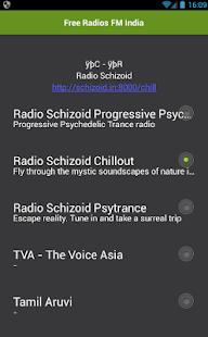 Free Radios FM India - náhled