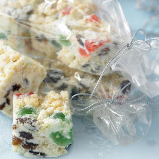 White Christmas Coconut Bars