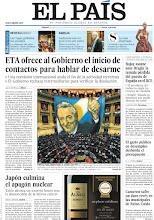 Photo: ETA ofrece al Gobierno el inicio de contactos para hablar de desarme, Japón culmina el apagón nuclear y Rajoy asume ante Draghi la temida pérdida del puesto de España en el BCE, en nuestra portada del sábado 5 de mayo de 2012 http://srv00.epimg.net/pdf/elpais/1aPagina/2012/05/ep-20120505.pdf