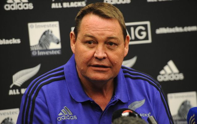 All Blacks Rugby coach Steve Hansen. Picture: GALLO IMAGES/LEE WARREN