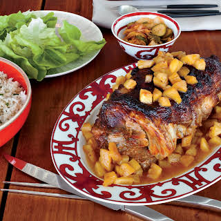 Slow-Cooked Sweet-and-Sour Pork Shoulder with Pineapple.