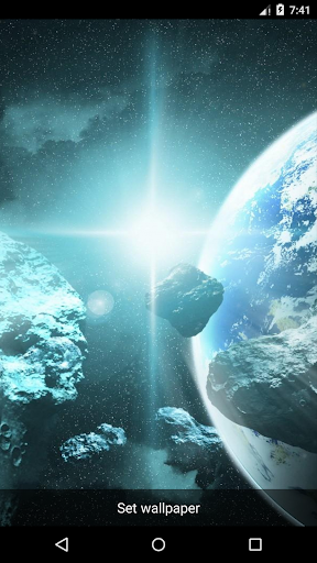 玩個人化App|Planet 16 Live Wallpaper免費|APP試玩