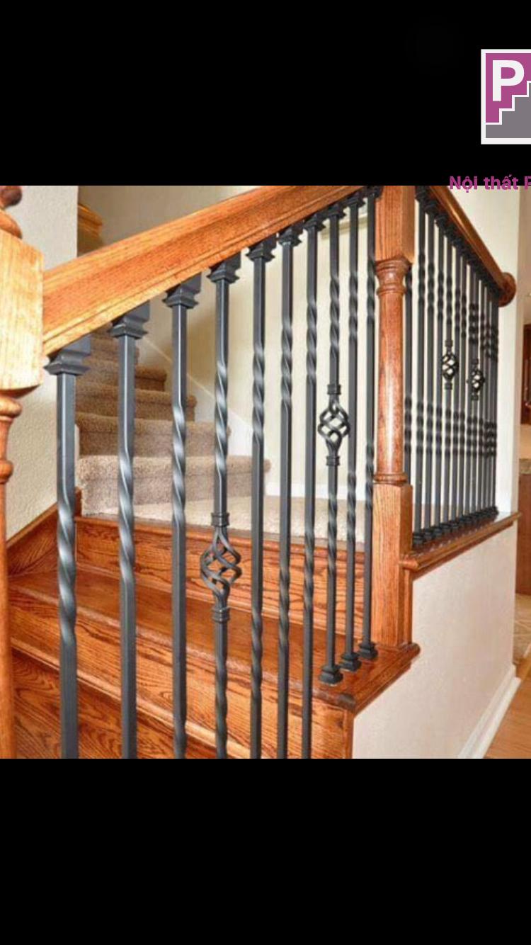 cầu thang gỗ đẹp mang lại sự sang trọng