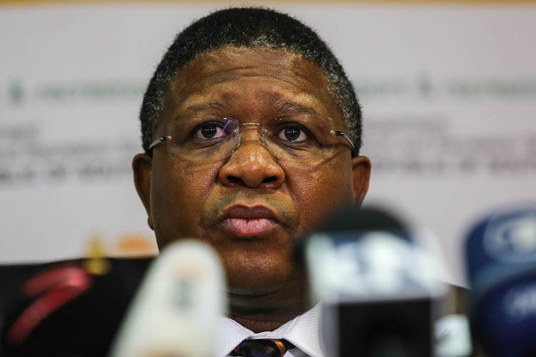 Fikile Mbalula.    Picture: THE TIMES