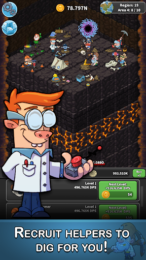 Tap Tap Dig - Idle Clicker Game 1.5.7 screenshots 3