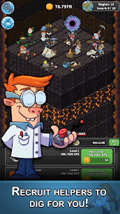 Tap Tap Dig – Idle Clicker Game MOD 1.5.0 (Unlimited Money) Apk 3