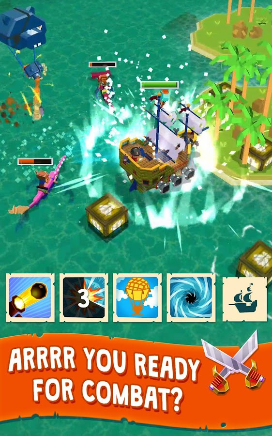 Holy Ship! – Idle RPG Battle & Loot Game (Unreleased)- screenshot