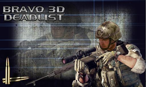 Bravo 3D: Deadlist