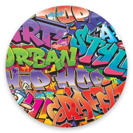 HD graffiti wallpaper icon