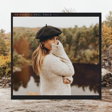 Autumn Beret - Instagram Post Template