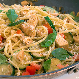 Light Chicken Linguine