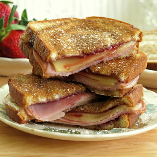 Monte Cristo Grilled Cheese.