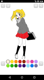 Anime Manga Coloring Book - Android Apps on Google Play