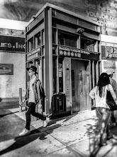 Photo: SoHo subway www.leannestaples.com #newyorkcity  #streetphotography  #monochromephotography