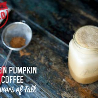 Protein Pumpkin Spice Coffee