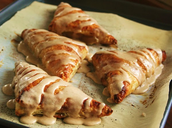 Puff Pastry Apple Pie Turnovers Wapple Spice Glaze Recipe
