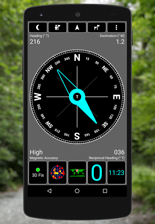 GPS Test- screenshot