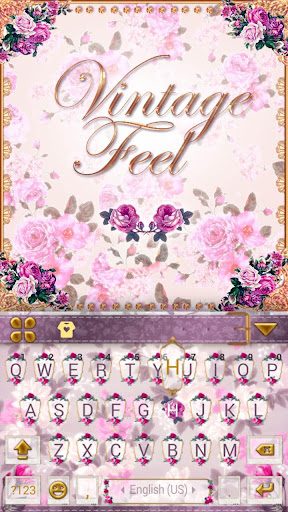 vintage feel kika keyboard screenshot 2