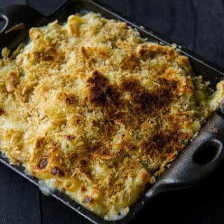 Mac 'N' Cheese with Smoked Gouda Crunch Recipe