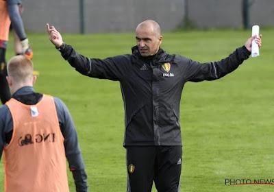Martinez donne un indice sur le 9 qu'il alignera face à la Bosnie