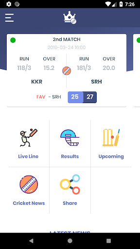 Cricket Live Line King screenshots 2