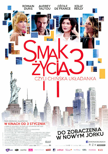 Przód ulotki filmu 'Smak Życia 3, Czyli Chińska Ukladanka'