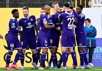 Anderlecht vroeg - via Kompany - geste aan spelers, technische werkloosheid (momenteel) niet aan de orde