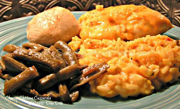 Dee Dee's Cheesy Chicken Casserole Recipe