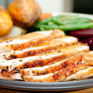 Slow Cooker Herb Crusted Turkey Breast.