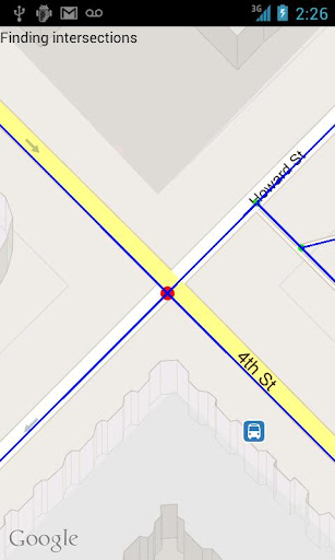 Intersection Explorer screenshot 1