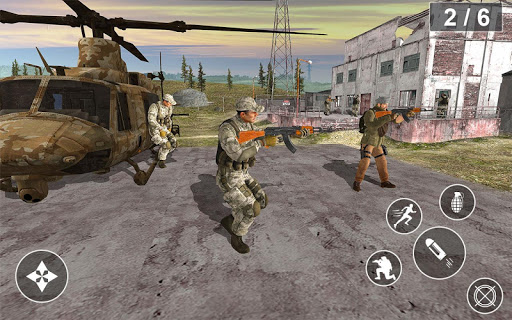 The Immortal squad 3D: Ultimate Gun shooting games apkpoly screenshots 4