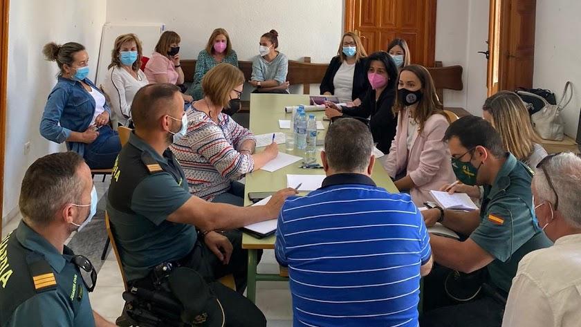 Reunión de Comisión de seguimiento de la violencia de género.