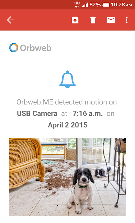 Orbweb.me Personal Cloud- screenshot