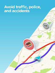 Waze - GPS, Maps, Traffic Alerts & Live Navigation- screenshot thumbnail