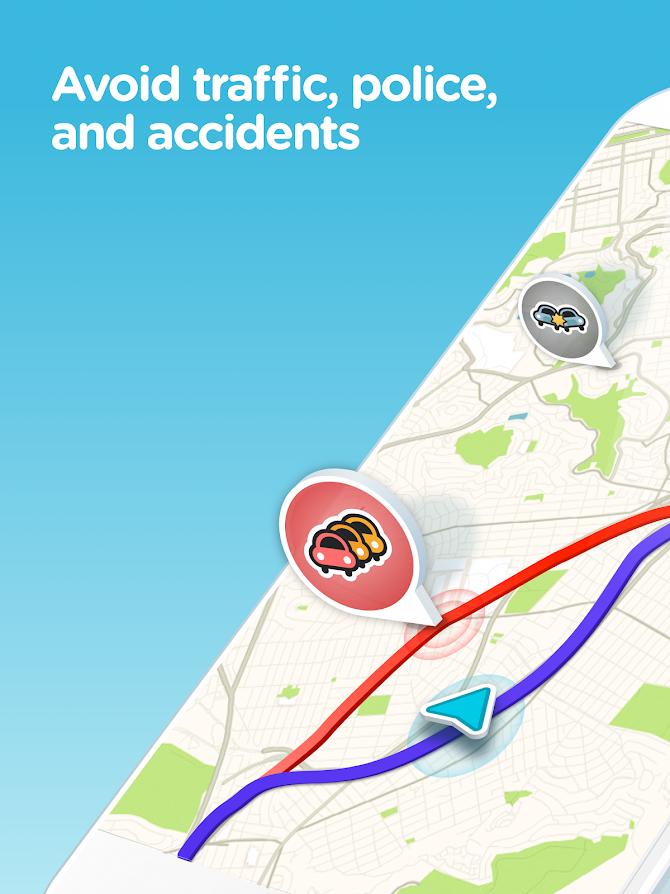 Waze - GPS, Maps, Traffic Alerts & Live Navigation Android 11
