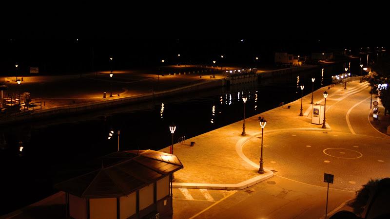 Molo di notte di Reginato
