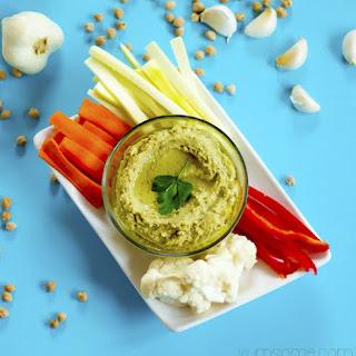 Creamy Avocado Hummus Recipe