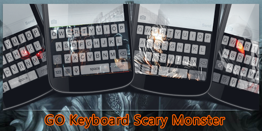GO Keyboard Scary Monster