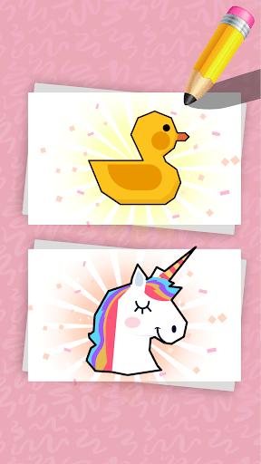 Pixel Art, Low Poly Art Puzzle - Color by Line  screenshots EasyGameCheats.pro 5