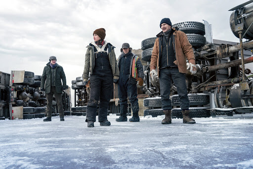 Review: Liam Neeson's back, fighting on thin ice (literally)