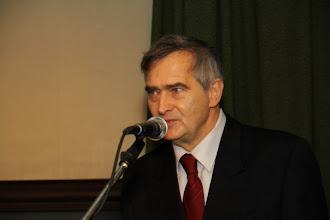 Photo: Prezes Olgierd Łukaszewicz przemawia