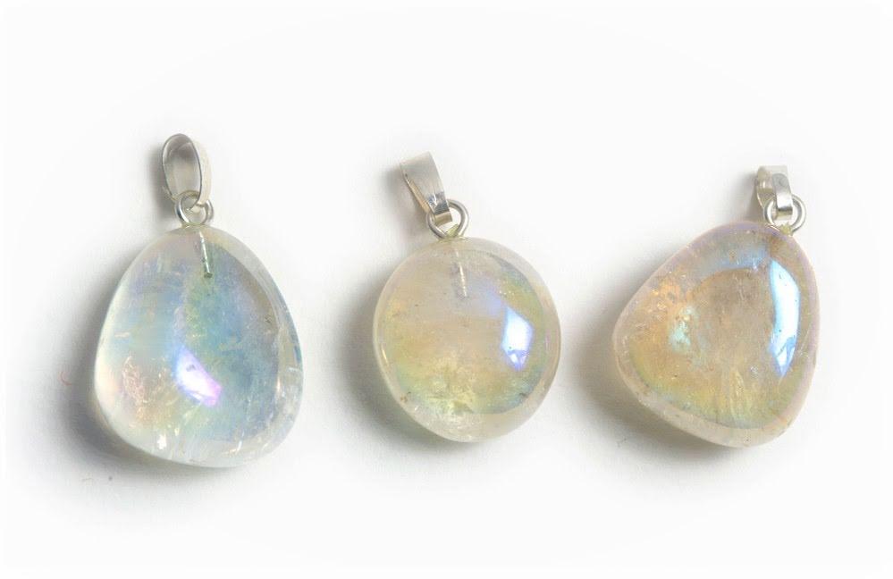 Aurora Borealis, bergkristallhänge med silverfäste
