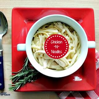 Easy Chicken~N~Noodles Recipe