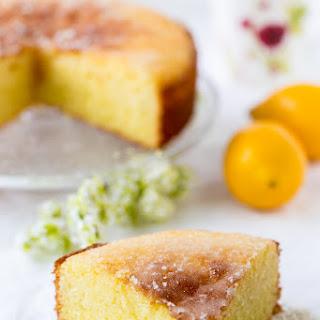 Elderflower and Lemon Drizzle Cake.