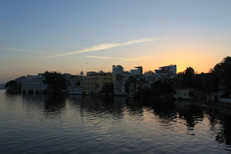 Photo: Udaipur by sun set